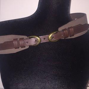 Target Accessories - Target double bucket brown belt